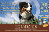 Rotations Pet Food, Awarded Best New Dog Food