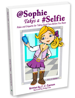 @Sophie Takes a #Selfie Cover Art