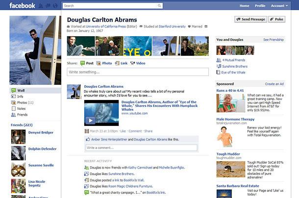 Douglas Carlton Abrams Facebook Profile