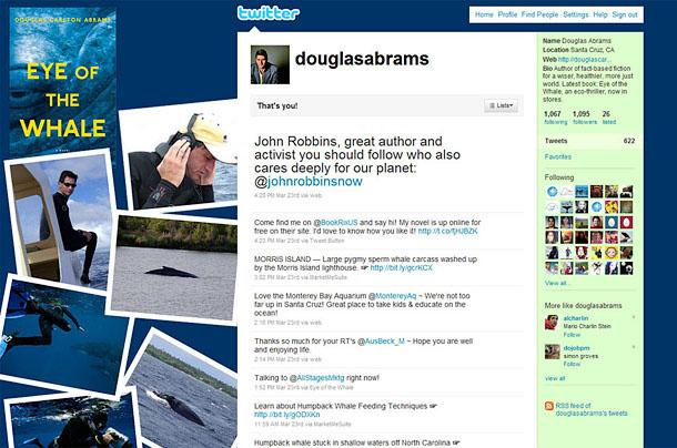 Douglas Carlton Abrams Twitter Account