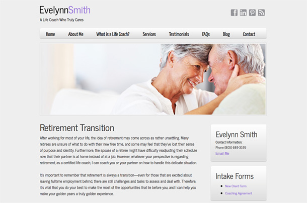 Retirement Transition | Evelynn Smith