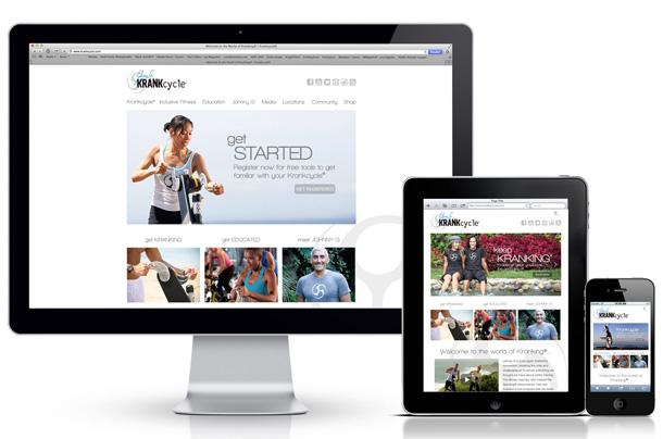 Krankcycle Website Development