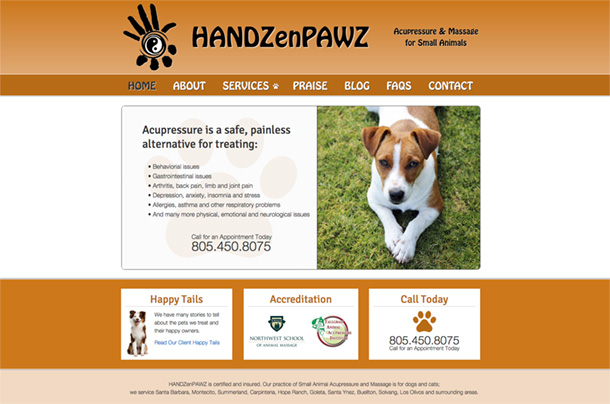 HandZenPawz Home Page