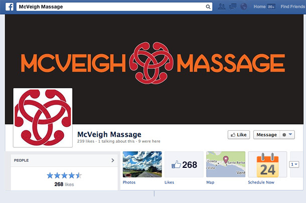 McVeigh Massage Facebook