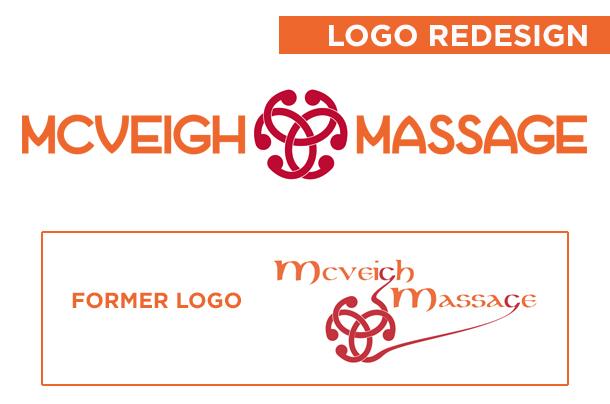 McVeigh Massage Logo Redesign