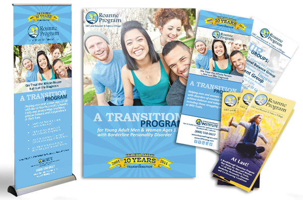Roanne Program Print Collateral