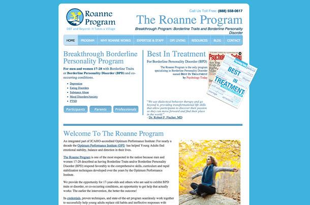 Roanne Program Website