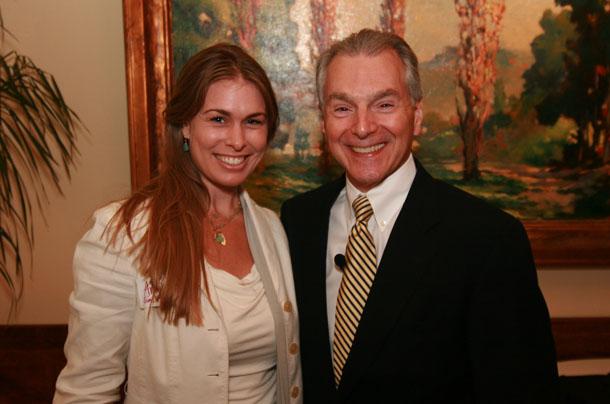 Amber Sims Hinterplattner and Jim Cathcart