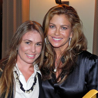 Amber Sims Hinterplattner and Kathy Ireland