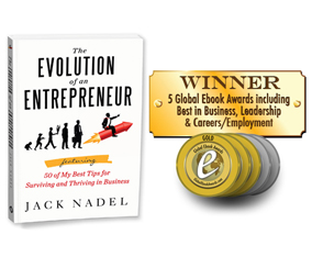 Jack Nadel, Award-Winning Author & Entrepreneur