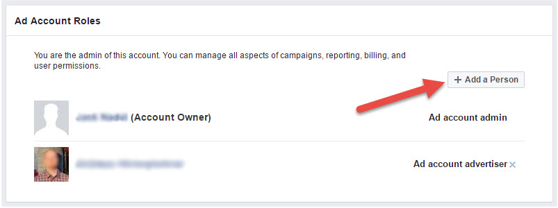 how to add someone to facebook business manager