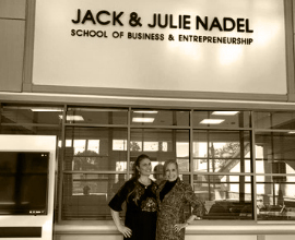Jack & Julie Nadel School of Business & Entrepreneurship